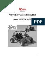 Yama Buggy 400cc Parts List and Schematics
