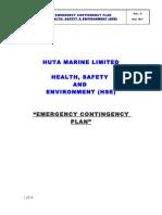 Emergency & Contingency Plan ORIGINAL