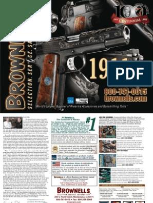 M1911A1 M1911 Colt /& Clones 4 1911 Bare Finish Standard Slot Grip Screws Set of