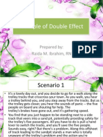Principle of Double Effect