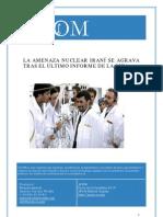 España y la amenaza nuclear iraní
