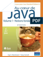 Au coeur de Java 6  - volume 1 Notions fondamentales - 8ème Edition