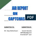 Captcha Report