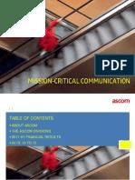 Ascom Group Presentation En