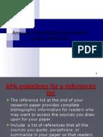 3.Citation Styles APA