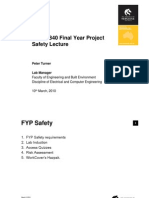FYPSafetyLecture2010