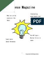 Science Magazine 2nd Term