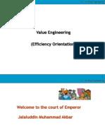 9 Efficiency Orientation Value Engineering - Akbar and Birbal