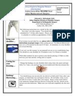 Home Instruct Reverse Total Shoulder