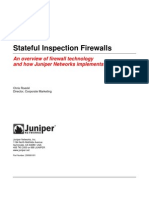 Juniper Stateful Inspection Firewall