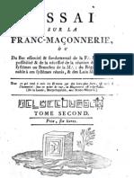 Essai_sur_la_franc_maçonnerie (TOME II)