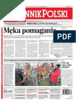 """""""Męka pomagania"""" Dziennik Polski (27.12.2011)"""