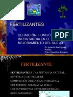 Definicion e Importancia de los Fertilizantes