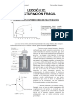 Analisis Geologico Estructual - Leccion 12 - Fracturación frágil
