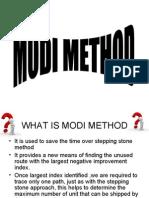 Modi Method
