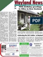 The Wayland News January 2012