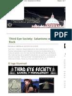 Third Eye Society-Satanismo en El Rock