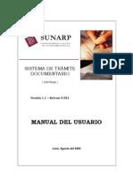 Manual de Tramite Version 1.1 Release 0001 - 1ra Parte