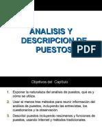 Analisis y Descripcion de Puesto Direccion de Rr Hh