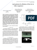 Paper 6- Graphing Emotional Patterns by Dilation of the Iris in Video Sequences