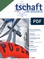 Wirtschaft in Bremen 01/2012 - IHK Jahresthema