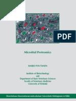 Microbial Proteomics