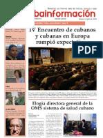 Cubainformación, nº 11, otoño 2009