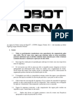 Regulamento - Robot Arena