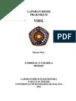 LAPORAN RESMI PRAKTIKUM VHDL