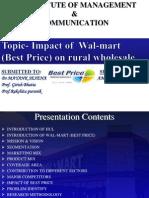 presentation on HUL Wal-mart