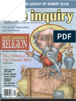 Free Inquiry Who Published the Christian Bible