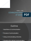 1. Communicating at Work
