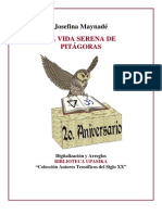 Maynade Josefina - Vida Serena de Pitagoras