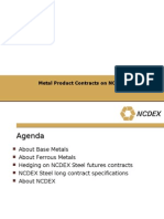Metal Products Contract
