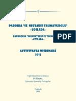 Activitatea misionara 2011