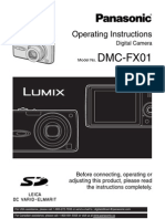 DMC-FX01 User Manual
