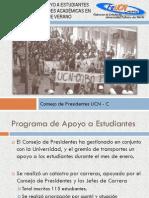 Programa de Apoyo a Estudiantes durante actividades académicas