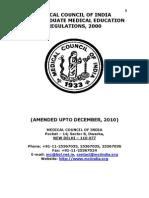 Postgraduate Medical Education Regulations 2000