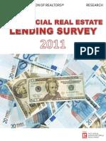 2011 Commercial Real Estate Lending Survey