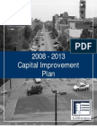 2008-2013 Capital Improvement Plan