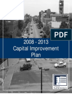 2008-2013 Capital Improvement Plan