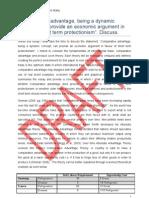 EC-228 Essay - Comparative Advantage Final