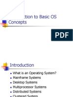 Basic Os Concepts