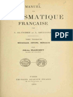 Manuel de numismatique francaise. T. III