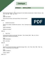 Science Des Materiaux-metallurgie Cle8141b1
