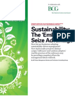Sustainability - Embracers Seize Advantage