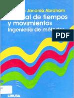 Manual de Tiempos y Movimientos