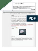 Tutorial] Desmontar Acer Aspire One Para Ampliarle Memoria RAM