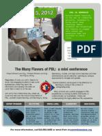 ESSDACK PBL Mini-Conference, Jan 5, 2012