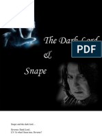 The Dark Lord & Snape - Harry Potter Fanfiction